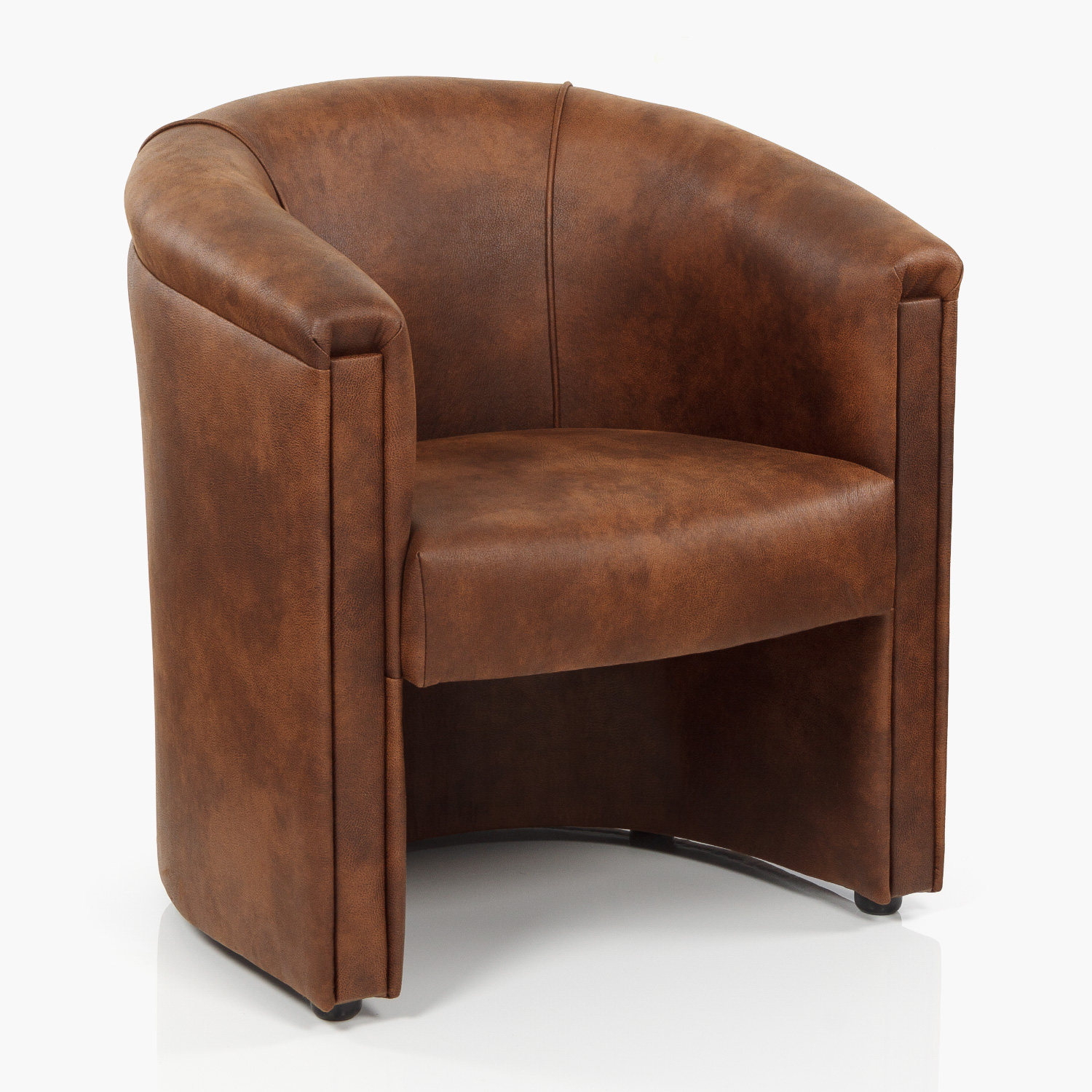 Lawley Tub Chair – Eastwood Bison – J&K Hopkins